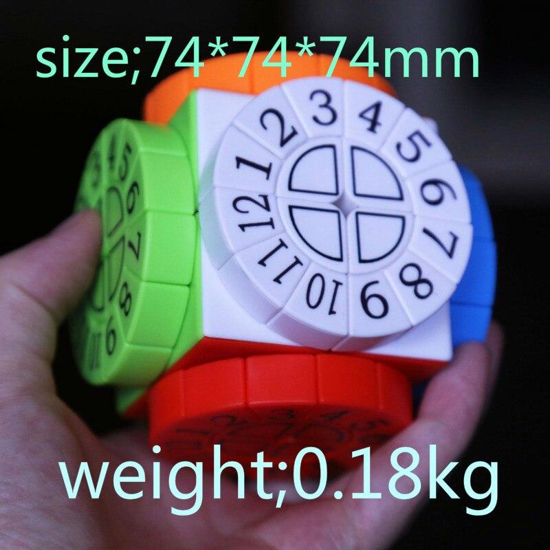 LefangDigital Second-order Color Student Intelligent Educational Toys Rotating Decompression Factory Direct Sales Plastic Skewb