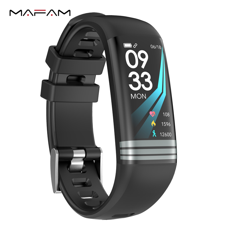 MAFAM M3B Sport Smart Bracelet Fitness Band Heart Rate Blood Pressure Monitor Call SMS Reminder Bluetooth Clock For IOS Android