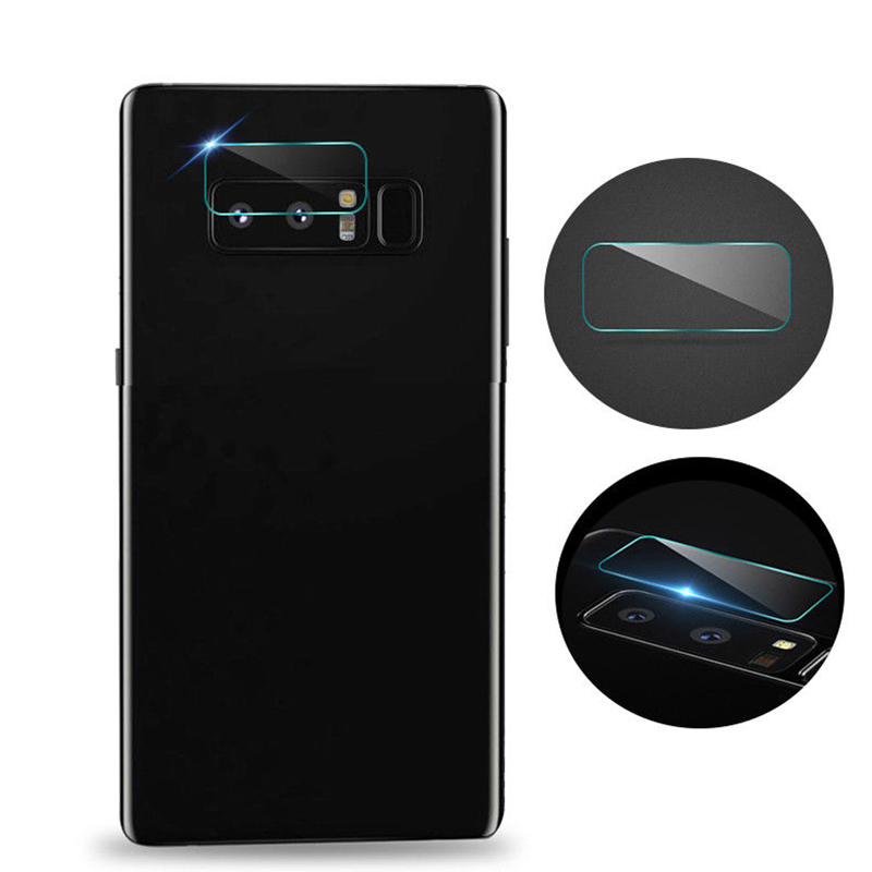 0.2mm Anti-fingerprint Back Camera Lens Clear Protector for Samsung note8 Explosion Proof Tempered Glass Protective Film GHMY