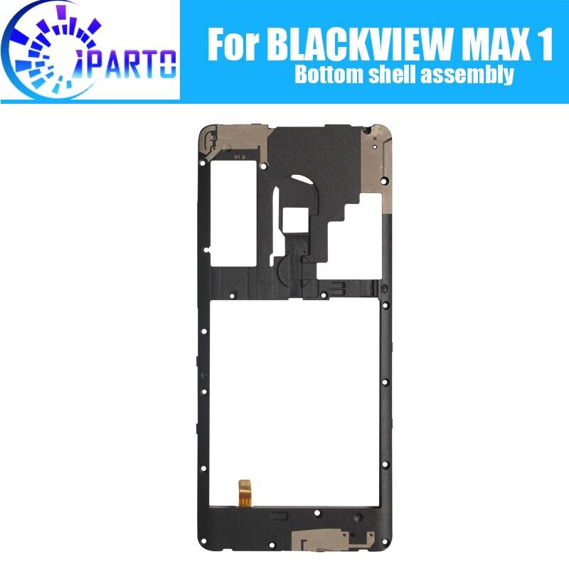 BLACKVIEW MAX 1 Bottom shell assembly 100% New Original Front Bottom shell assembly Repair Accessories for MAX 1 Mobile Phone|Mobile Phone Housings & Frames| |  - title=