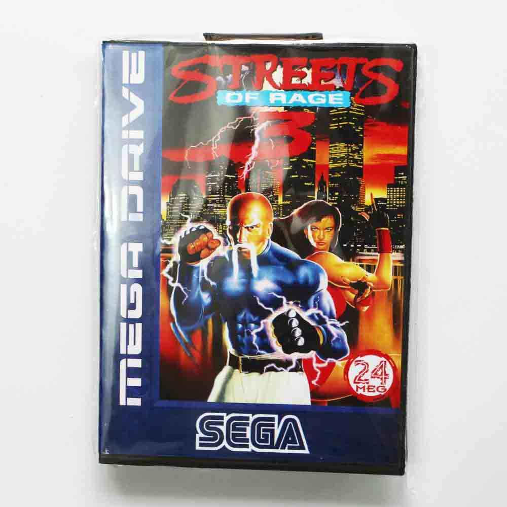 Street Of Rage 3  Game Cartridge 16 bit MD Game Card For Sega Megadrive/Genesis