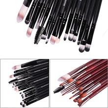 2016 New Arrival New 15Pcs Makeup Cosmetic Powder Foundation Eyeshadow Mascara Lip Eyebrow Brush Set Kit
