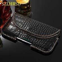 Riem Echt Leer Telefoon Case Pouch Voor Samsung Galaxy S10e M20 M10 S5 S7 S6 S9 S8 S10 Plus Note8 note 9 Vouw S9plus A6