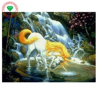 New Diy Paintings Hot Pastoral Resin Animal Sale Diamond Painting Embroidery Horse Needlework Patterns Kits Picture