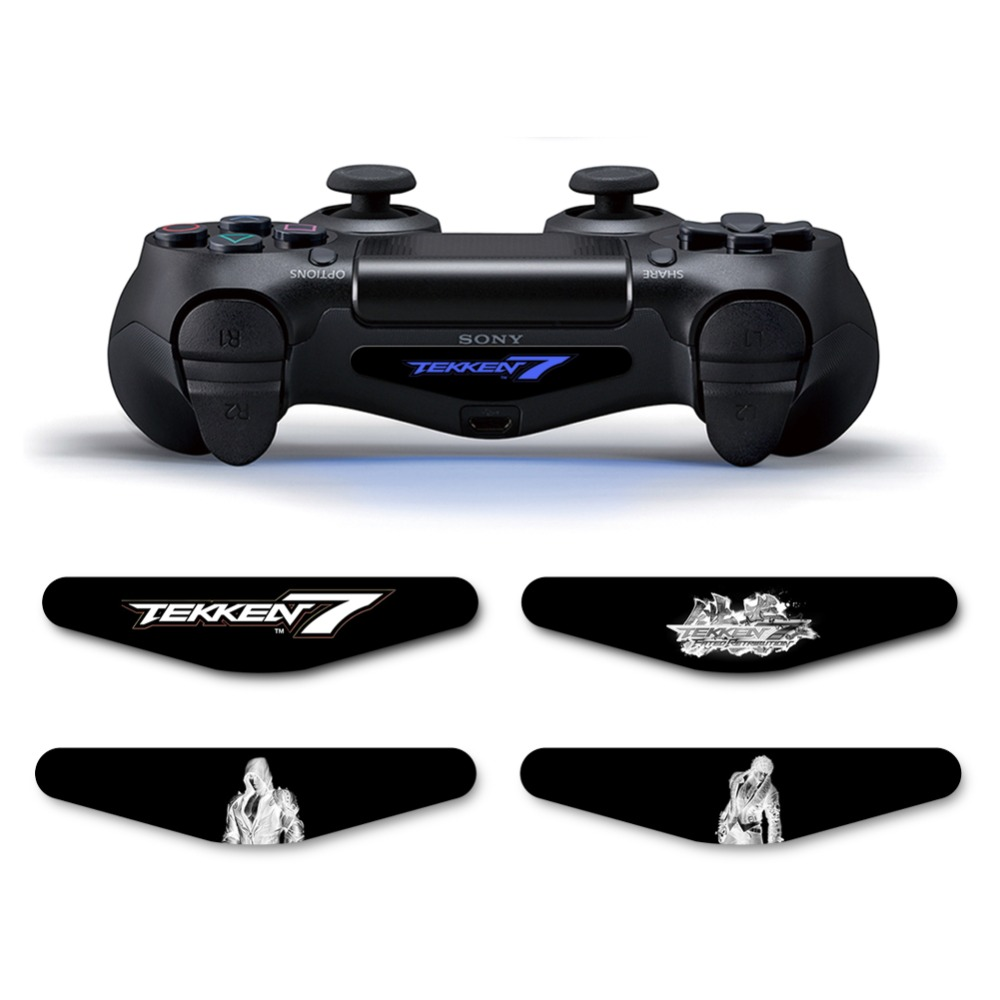 Tekken 7 PS4 Slim Designer Vinyl Skin Decal Sticker Cover