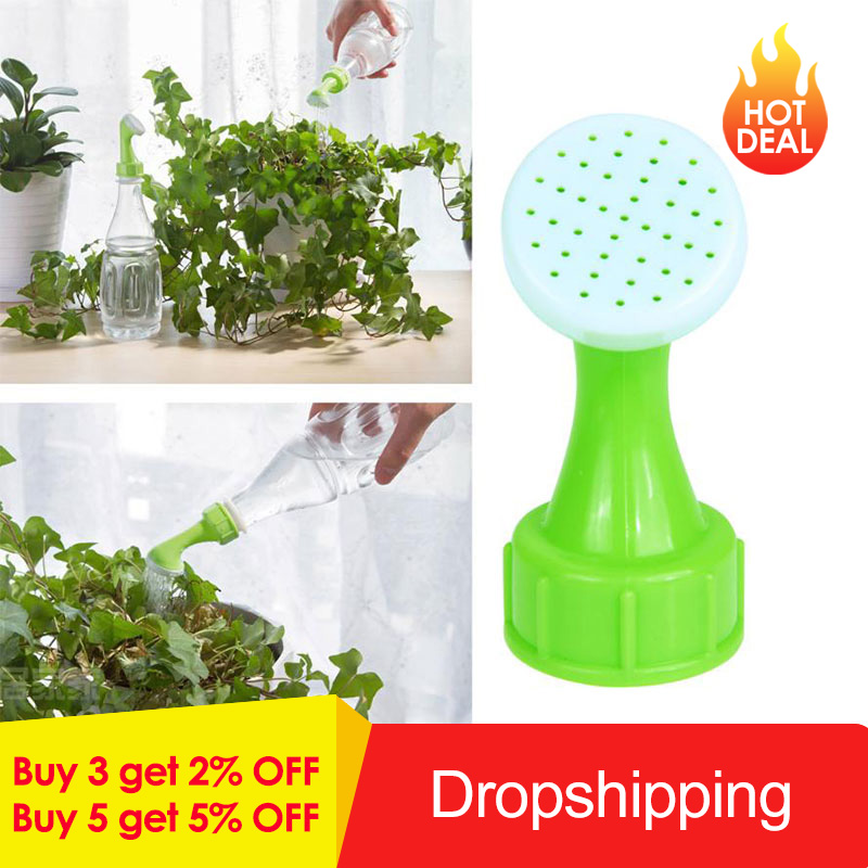 2pcs/set Bottle Spray Watering Sprinkler Head Portable Household Garden Watering Nozzle Potted Plant Watering Kits Device