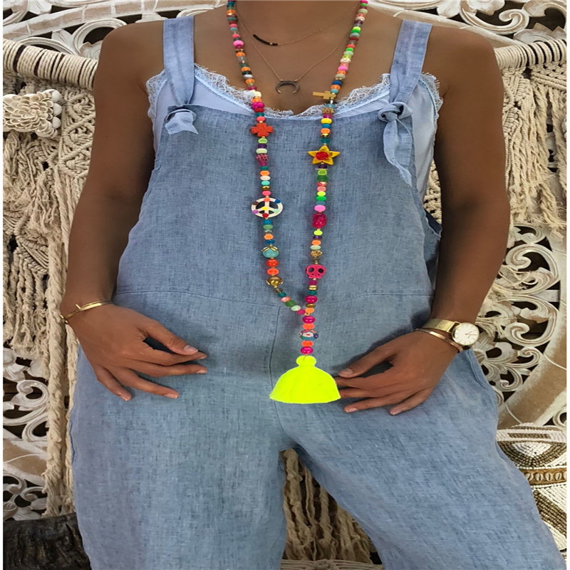 MeiHuiDa 2020 New Style Fashion New Women Casual Loose Denim Cotton Jumpsuit Loose Solid Harem  Overalls