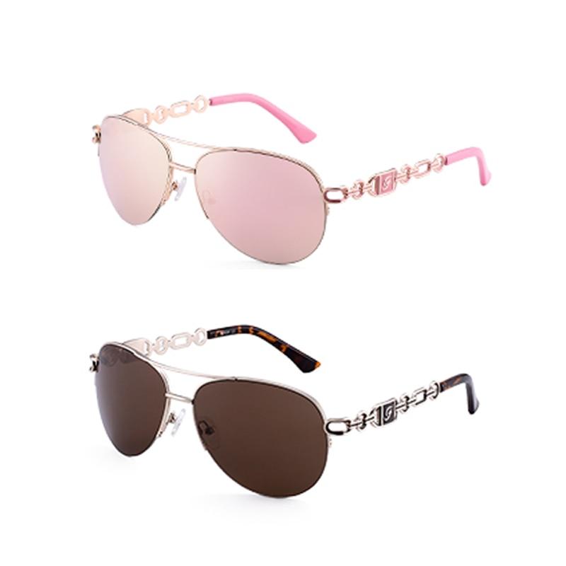 FENCHI sunglasses women uv 400 oculos female glasses sun glasses mirror Pilot Pink feminino zonnebril dames gafas de sol mujer 9