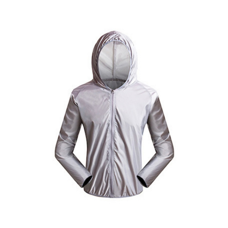Cycling Jerseys Men Sun Protection Clothing UV Breathable <font><b>Bike</b></font> Riding <font><b>Equipment</b></font> Cycling Clothing Outdoor Breathable Clothing image
