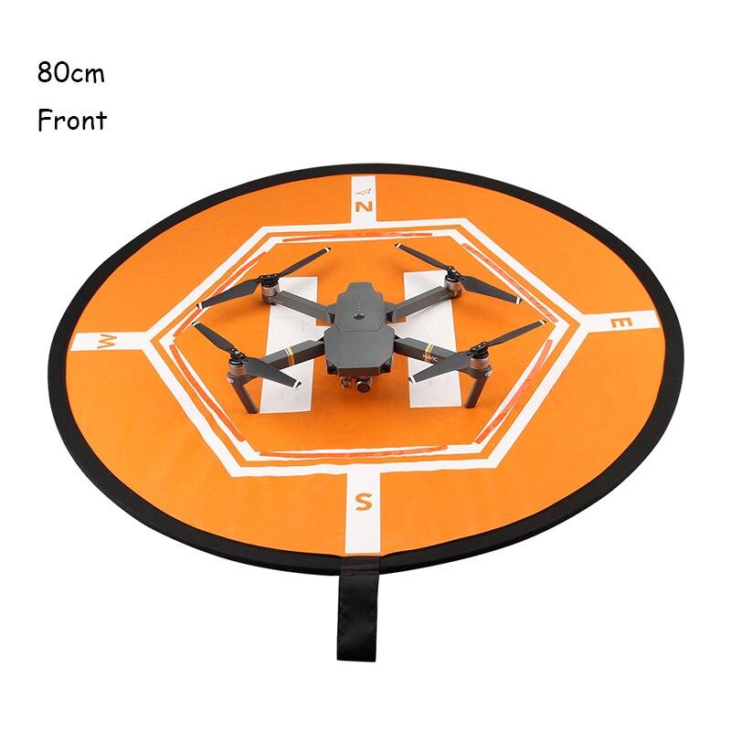 80cm DJI Mavic Pro 팬텀 2/3/4 주차 앞치마 / 앞면 보호 접이식 착륙 패드 DJI 스파크 액세서리 H Drone Auadrotor