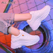 YIXIE/Новинка года; модная женская обувь для отдыха; Женская Летняя Повседневная дышащая обувь на платформе; женские кроссовки; Студенческая женская обувь
