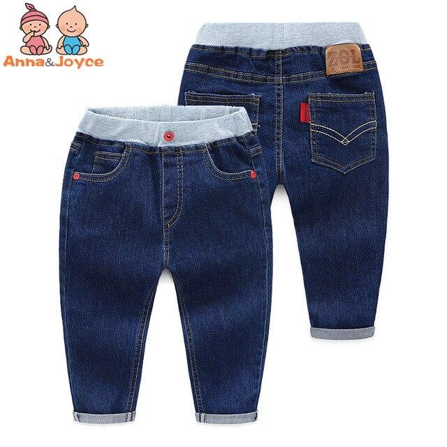 Ребенок 2017 зима наряд чистый цвет джинсы хан издание нового мальчика детская одежда детский отдых брюки ATSK8952