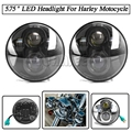 "Harley Motocycle 5.75"" Headlight for Harley Softail Dyna Davidson 883"