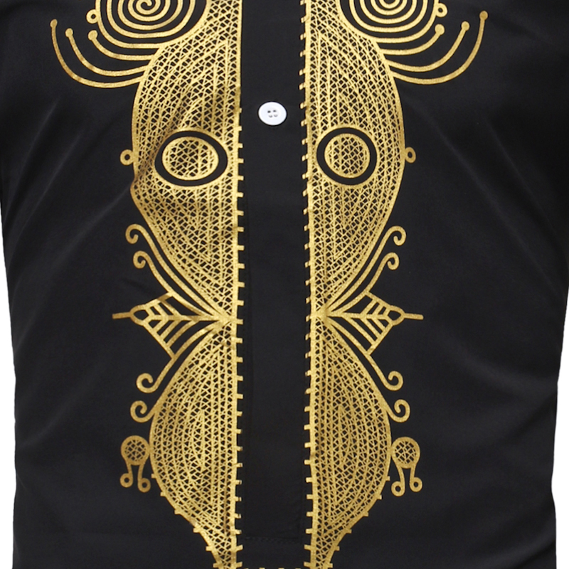 Africa Clothing African Dashiki Traditional Dashiki Maxi Man Shirt Men 2018 Brand New Ethnic Printed Long Line Arican Shirt Men (2)