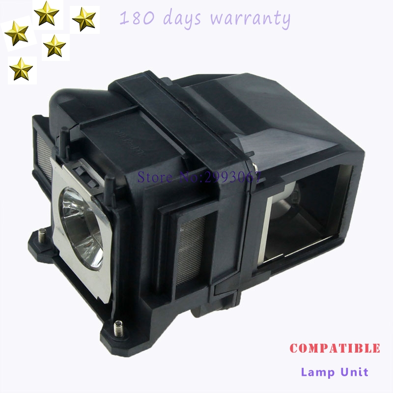 High quality ELPLP78  V13H010L78 Projector Lamp with Housing For EPSON EB-945 955W 965 S17 S18 SXW03 SXW18 W18 W22 Projectors aliexpress hot sell elplp76 v13h010l76 projector lamp with housing eb g6350 eb g6450wu eb g6550wu eb g6650wu eb g6750 etc