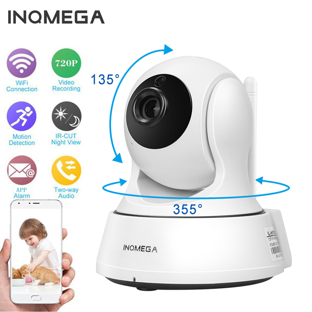 INQMEGA 720 p Câmera IP Sem Fio Wi-fi Cam Interior Home Security Vigilância CCTV Network Camera Night Vision P2P Visualização Remota