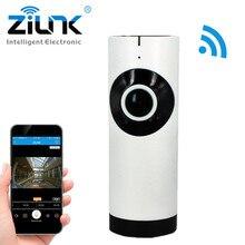 ZILNK IP Camera 180 Degree Panoramic Fisheye Lens HD 720P Wi Fi Two Way Audio Baby
