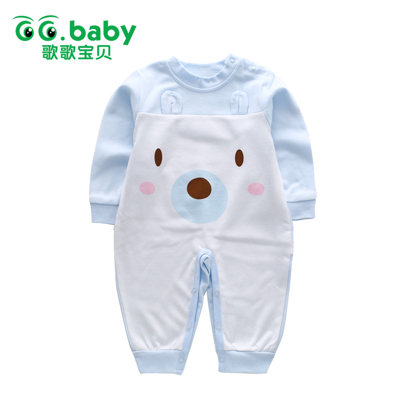 Newborn Baby Boy Rompers Autumn Winter Long Sleeve For Baby Boys Clothes Jumpsuits Baby Girl Romper Clothing Toddler Overalls newborn baby boy rompers autumn winter rabbit long sleeve boy clothes jumpsuits baby girl romper toddler overalls clothing