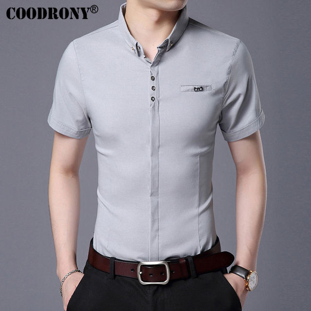 Business Casual Short Sleeve Shirt  1