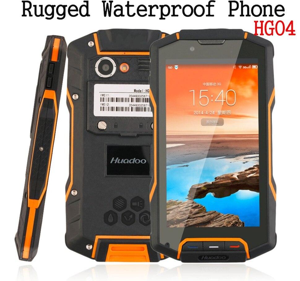 Цена за IP68 Противоударный Водонепроницаемый Телефон в исходном Quad Core IP68 прочный Android смартфон Мобильный HG04 4 Г FDD LTE GPS 2 ГБ RAM GPS Runbo