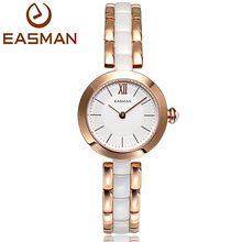 EASMAN Brand New luxury Women Ceramic Watch Ceramic Quartz Watch Noble Multicolor Casual Wristwatches For Ladies