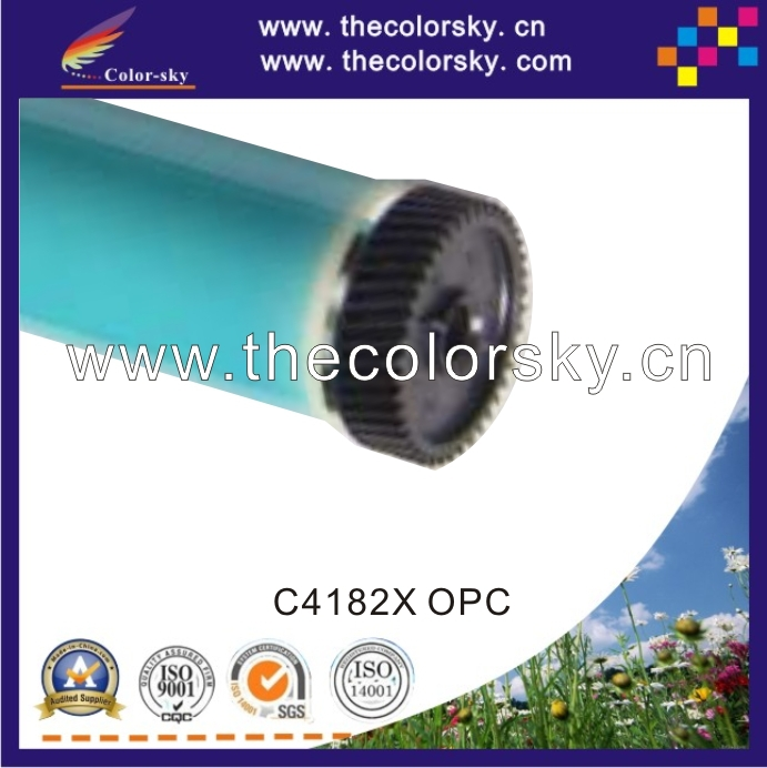 (CSOPC-H4182) laser parts OPC drum for HP Mopier 320 Troy System 632 MICR 8150Ex print 4-5 times after refilling free dhl