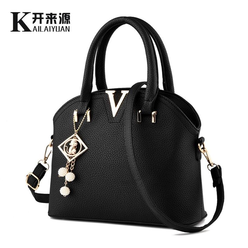 ФОТО KLY 100% Genuine leather Women handbags 2017 New styling package female Korean female commuter bag Messenger shoulder handbag