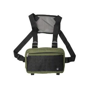 Image 5 - Mannen borst rig hip hop streetwear borst zak Vest Voor Mannen schoudertas Militaire Tactische Tactische Reizen Taille zakken Taille packs