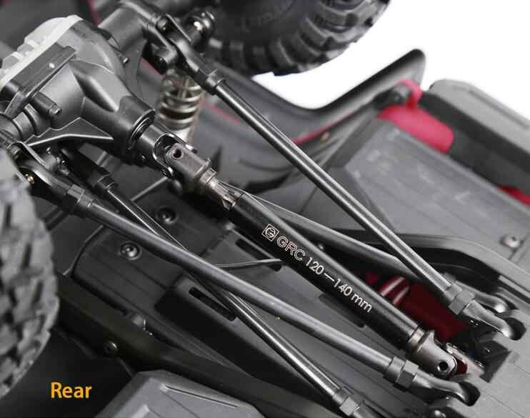 Eje de transmisión de alta resistencia Cvd, aleación de acero, junta Universal de acero para coche Trx4 Traxxas Trx-4 1/10 Rc