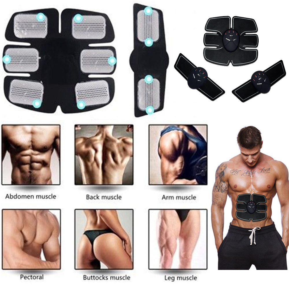 Automatic Fitness Muscle Trainer Abdominal Smart ABS Simulator Electric Belly Exercises Machine Training Fitness Equipments
