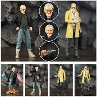 Custom 6 Stan Lee Action Figure 1/12 1:12 Doll Status Head Glasses Thor Captain America Iron man Marvel Legends Collection Toys