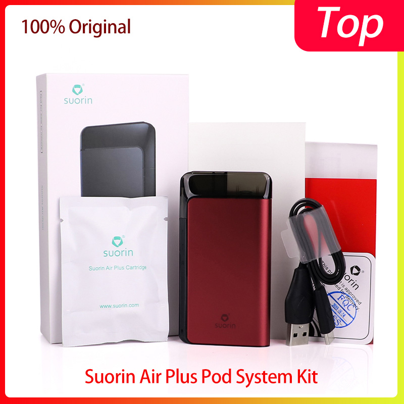 Original Vape <font><b>Pod</b></font> Kit <font><b>Suorin</b></font> <font><b>Air</b></font> <font><b>Plus</b></font> <font><b>Pod</b></font> Kit built-in 930mAh&3.5ml <font><b>pod</b></font> cartridge Electronic cigarette <font><b>Pod</b></font> System vs Renova Zero image