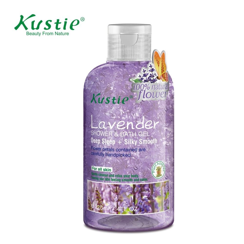 Kustie Beauty Cosmetics Lavender Shower Gel for Deep Sleep 220ml  недорого