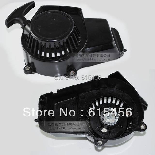 49CC Mini Dirt Bike,Pocket Bike And Mini ATV Plastic Aiconductor Pull Starter+Free Shipping