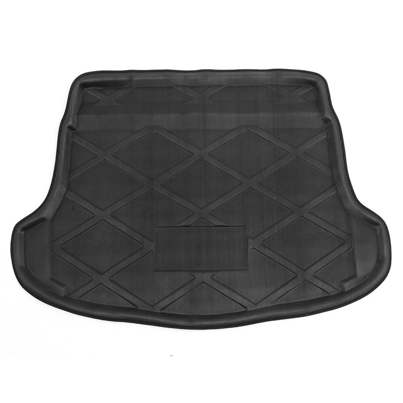 Car Floor Mat Car Trunk Floor Pad Mat Rear Car Accessories Styling Car Tail Box Pad For Honda CRV 2007-2011 colts car floor mat set of 2 nfl