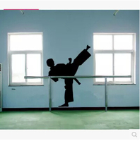 Kickboxing Wall Glass Decorative Stickers Wallpaper Wallpaper Factory Sitting Room Wall Of Pavilion Sports DIY Fashion