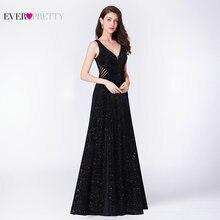 Vestido De noche De sirenita, ilusión elegante, sin espalda, negro, para fiesta Formal, EP07439BK, 2019