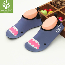 Children beach shoes baby soft floor indoor Slippers surf snorkeling swim socks boys and girls anti-slip home barefoot Slipper