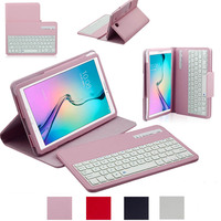 Wireless Bluetooth Keyboard Case For Samsung Galaxy Tab E T560 T561 9.6 inch 2 in 1 Removable Tablet Stan Cover keyboard Case