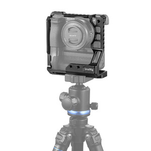 Image 5 - SmallRig A6400 Gabbia DSLR Cage Fotocamera per Sony A6000/A6300/A6400/A6500 con Meike MK A6300/A6500 battery Grip 2268
