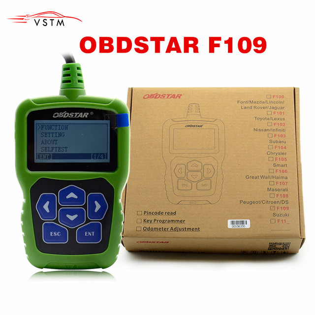 Original OBDSTAR For SUZUKI Pin Code Calculator F109 with Immobiliser and Odometer Function