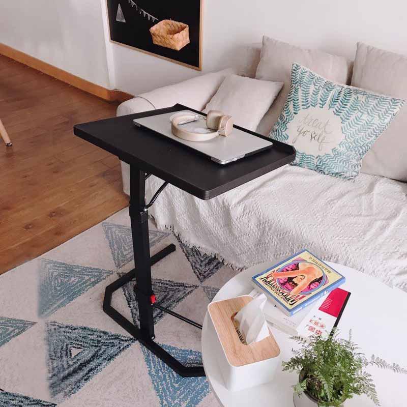 2019 Bedroom Furniture Foldable Computer Table  Sofa Adjustable &Portable Laptop Desk Rotate Laptop Bed Tablek   43*51CM