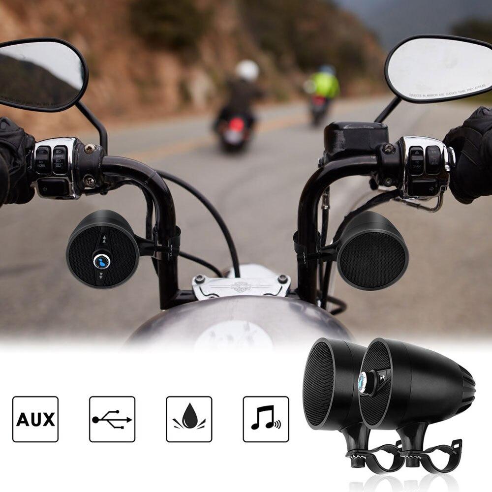 Lexin 2018 Super Musik audio Player mit FM Radio Tuner Bluetooth Lautsprecher für Motorrad Wasserdichte tragbare Stereo
