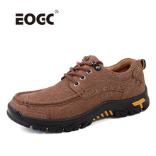 Genuine Leather Spring Autumn Men Shoes Plus Size Casual Shoes High Quality Two Style Lace-Up Outdoor Flats Shoes Men 2018 men casual shoes brand men leather shoes sneakers men flats lace up genuine split leather shoes plus big size spring autumn