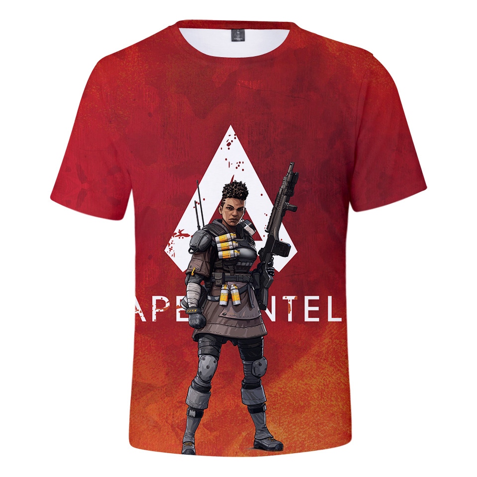 Apex Legends T-Shirt Titanfall Men Game  Short Sleeve Summer Tops Homme
