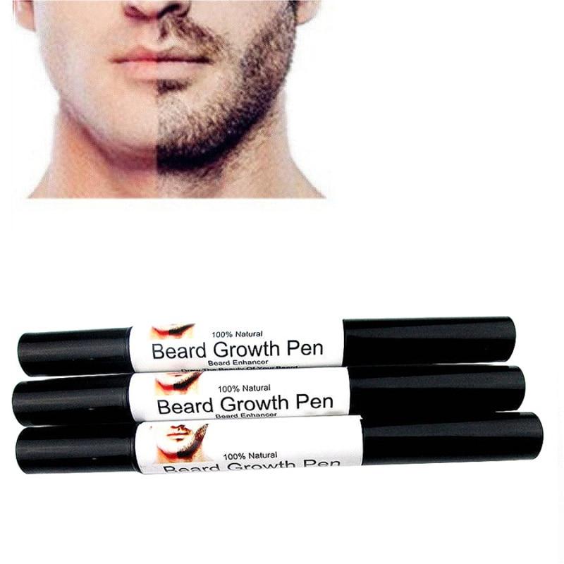 מהיר פנים אפקטיבי זקן זקן שפם צמיחה שפר העט נוזלי משפרים סגנון ריסוס צורה גידול בעט נוזלי