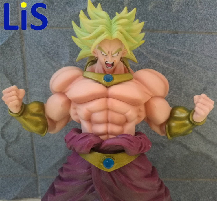 все цены на Lis 2017 Original BANDAI Dragon Ball Z shf super saiyan broli Brolly action figure toy for Collection онлайн