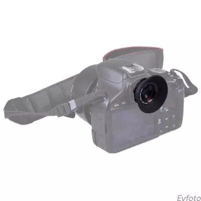 1.08X-1.60X Obiettivo Fotocamera Con Zoom Mirino Oculare Ingranditore Per Nikon d3000 d400 d310 d3200 d5000 d5100 d5200 d5300 DSLR fotocamera