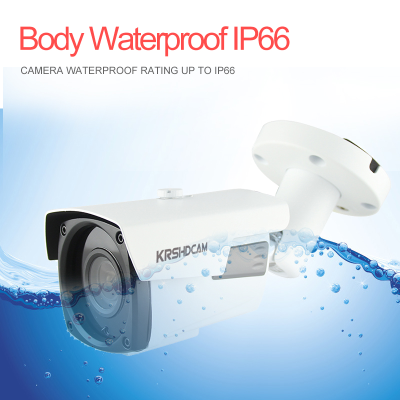 4.0MP POE IP Camera FULL HD 2688*1520 H.265/H.264 Outdoor waterproof zoom lens onvif2.4 security CCTV camaras de seguridad