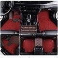 Esteiras do assoalho do carro para Jaguar personalizado Todos Os Modelos XE XF XJ F-TYPE F-PACE marca firm macio acessórios de carro styling car floor mat